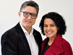 Diácono João Carlos e Maria Luiza