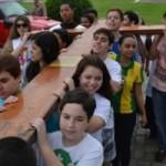 Símbolos da JMJ seguem em peregrinação pela Diocese de Itaguaí