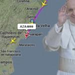 Acompanhe a chegada do Papa Francisco