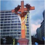 Cruz da JMJ preparada para Via Sacra