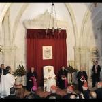 Papa reza o Regina Coeli na primeira sede da Igreja