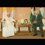 Papa visita presidente da Autoridade Nacional Palestina