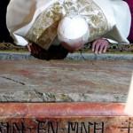 Papa diz que pode surgir futuro de justiça e paz na Terra Santa