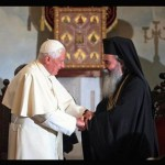 Papa encontra-se com Patriarcado Greco-Ortodoxo de Jerusalém