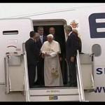 Papa chega a Roma após visita de oito dias à Terra Santa