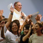 Em Brasília, mil fiéis participam de Missa no Parque da Cidade