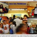 Sala das Promessas revela milagres no Santuário Nacional