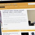 Site oficial da visita de Bento XVI a Cuba é lançado