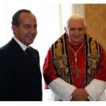 Papa encontra presidente mexicano e recebe chave da cidade