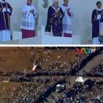 Bento XVI leva palavras de esperança aos mexicanos