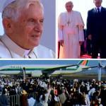 Bento XVI se despede do México