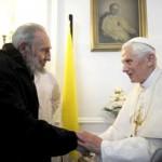Papa encontra-se com Fidel Castro antes de deixar Cuba