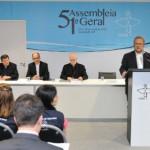 Coletiva de imprensa: bispos falam do início dos trabalhos