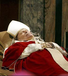Morre o Papa João Paulo II