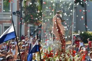 Cerca de 70 mil fiéis celebraram São Sebastião, no RJ