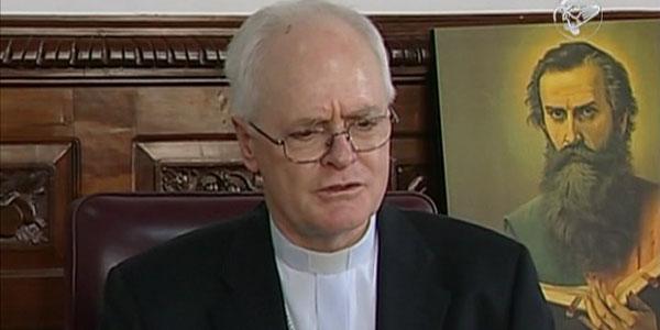 Dom Odilo em coletiva sobre sua saida do Banco do Vaticano