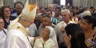Cardeal Odilo Scherer celebra 12 anos como bispo