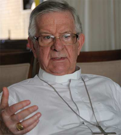 Cardeal Geraldo Majella irá mudar-se para Londrina