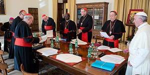 Conselho de Cardeais prevê final dos trabalhos para 2015