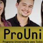 Inscrições para o ProUni começam nesta segunda-feira