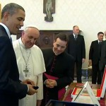 Papa Francisco recebe Barak Obama