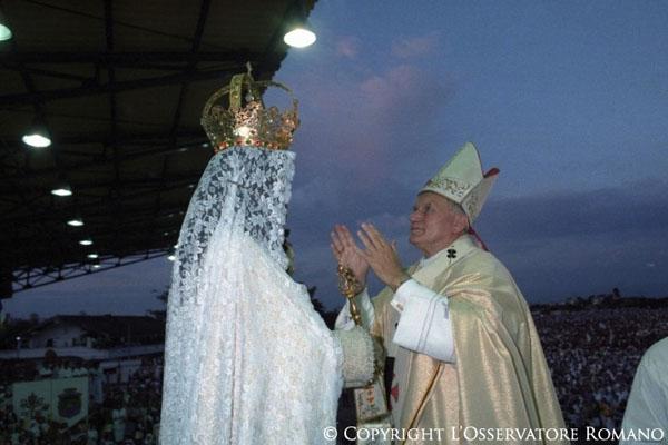 JPII_virgem maria
