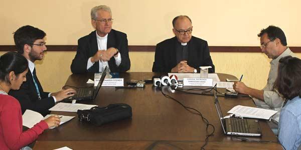 Em coletiva, CNBB comenta canonização de Anchieta e Saúde+10
