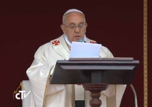 homilia papa francisco_canonização