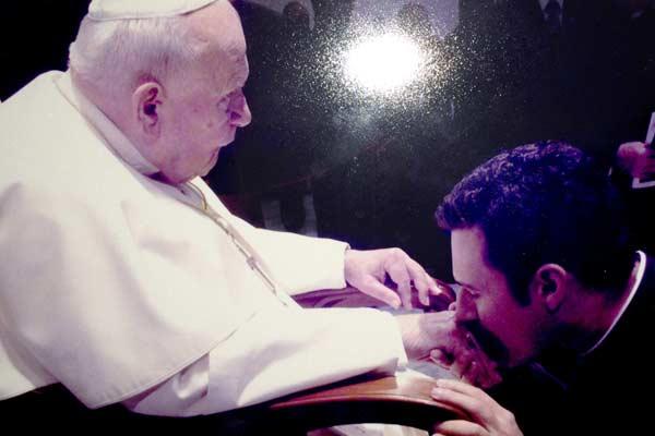Padre Hamilton recorda seu encontro com Papa JPII