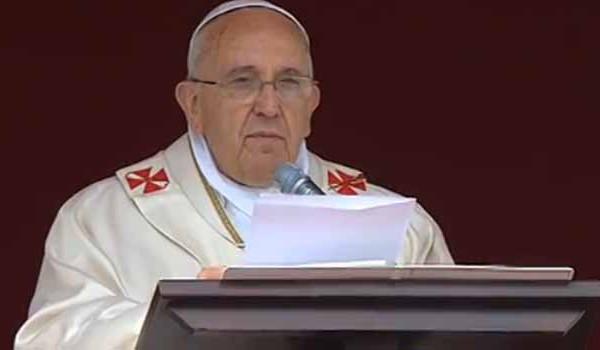 papa francisco_missa de canonização