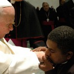 papa joão paulo II e padre roger