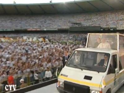 papa joão paulo II no brasil