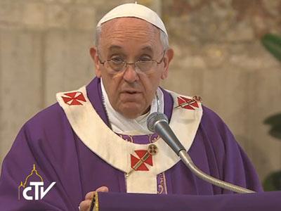 """Papa celebra em paróquia romana: """"ouvir a voz de Cristo"""""""