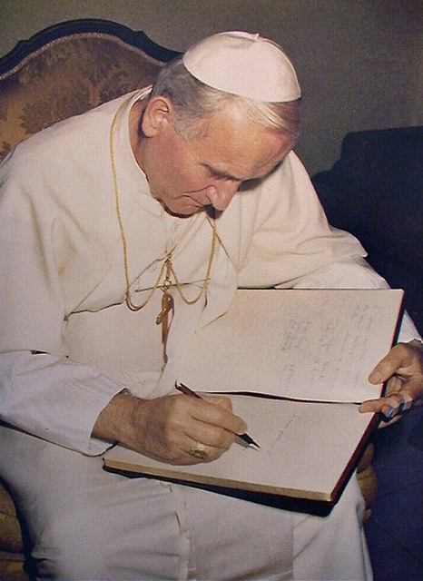 O testamento deixado por João Paulo II