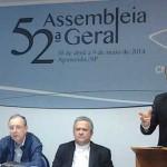 Eleições 2014 e desigualdade social são assuntos debatidos por bispos durante coletiva. FOTO: Alessandra Borges