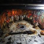 Incêndio causa danos à Gruta da Natividade em Belém