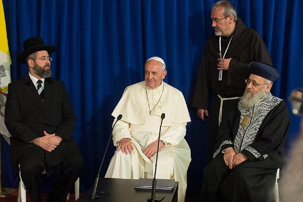 papa e grãos rabinos