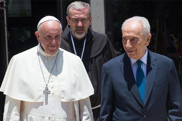 papa e presidente de israel