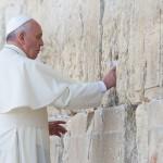 Confira fotos de momentos do Papa em Jerusalém