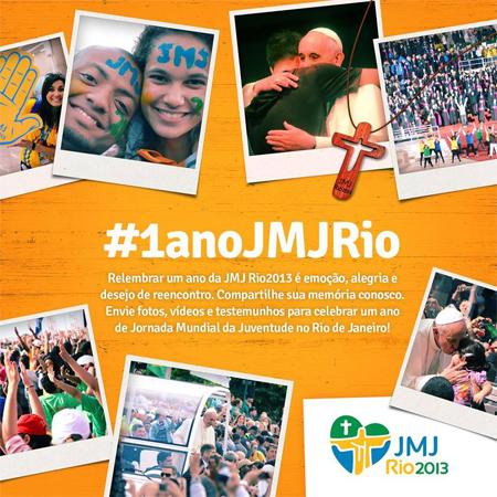 Arquidiocese do Rio promove ações para celebrar 1 ano da JMJ