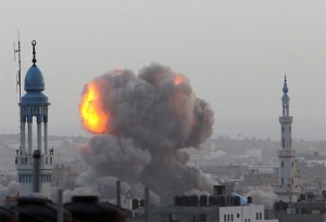 Israel Faixa de Gaza bombardeios