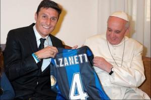 Papa futebol paz