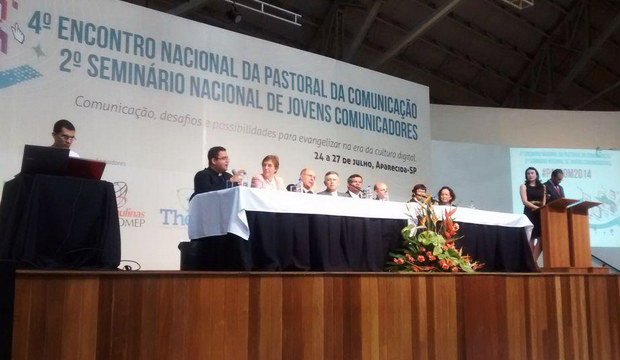 Encontro da Pascom em Aparecida-SP/ Foto: Luana Oliveira-CN