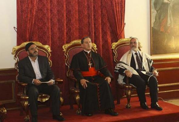 Líderes religiosos assinam declaração pela paz / Foto: Conferência Episcopal Colombiana