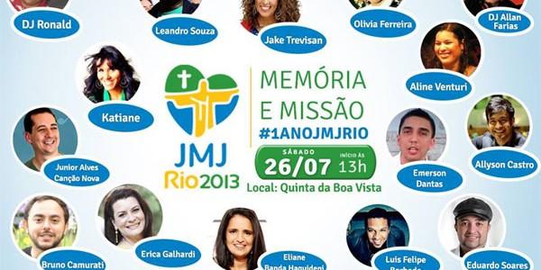 Vários artistas católicos participarão do evento / Foto: Arquidiocese do RJ
