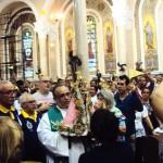 Imagem do Círio de Nazaré é recebida em paróquia do Rio de Janeiro