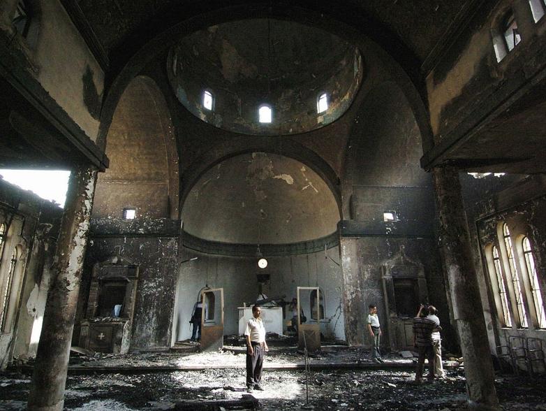No Iraque, muitas igrejas foram destruídas / Foto: AIS