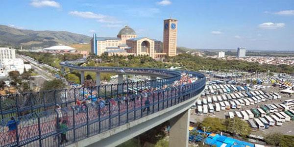 Santuário Nacional acolhe peregrinos o ano inteiro, em especial neste Ano Mariano / Foto: Arquivo