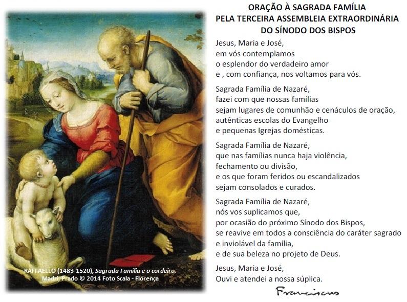 oracao_SagradaFamilia_sinodo