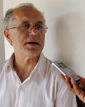 Padre Valdir joão Silveira, coordenador nacional da Pastoral Carcerária / Foto: site da pastoral